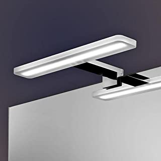 Kibath LED Wall Light 30 cm 10 W Cool Light Mod Alure, Chrome Gloss