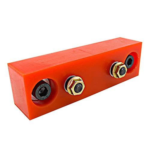 SSGLOVELIN Auto-Modifikation Teile Getriebestütze Gummi-Kissenübertragungsmontage Geeignet für Nissan S13 S14 (Color : Red)