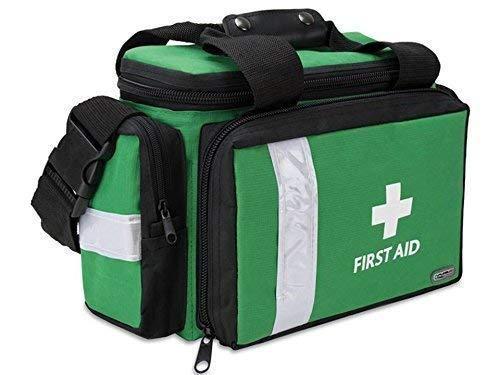 PolAmb Products Premiers Secours Sac Médical Ambulance Paramédical First Responder Medic - Vert Imprimé, Medium