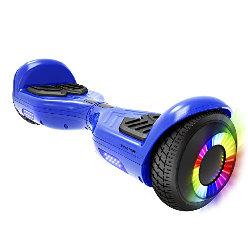 Swagboard Twist T881 Lithium-Free Kids Hoverboard - Easy Balance Wheels (Blue)