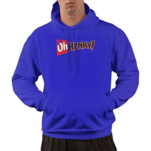 Tengyuntong Hombre Sudaderas con Capucha, Sudaderas, Men's Pullover Hooded Sweatshirt - Oh Henry