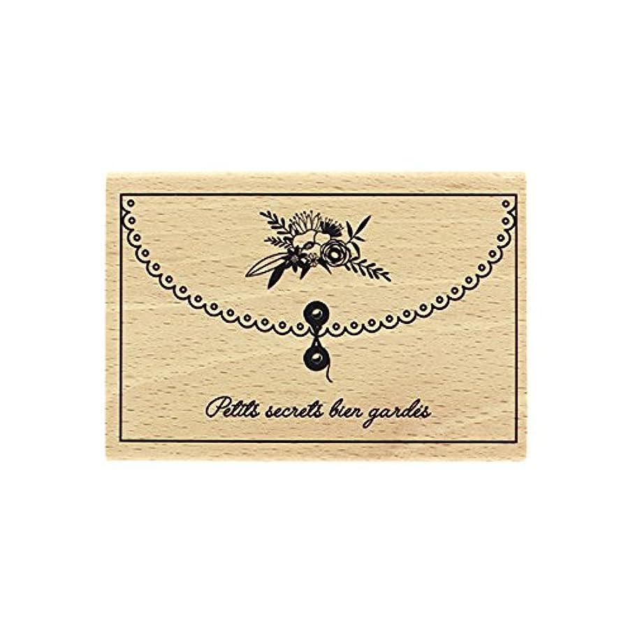 Florilèges Design fg117031?Small Well Kept Secrets Stamp Wood 7?x 10?x 2,5?cm