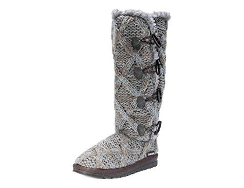 MUK LUKS Women's Felicity Boots - Grey