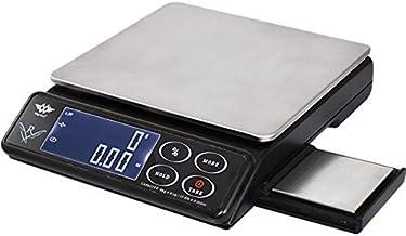 My Weigh Balance de cuisine double plateforme, noir, 25 x 20 x 5 cm