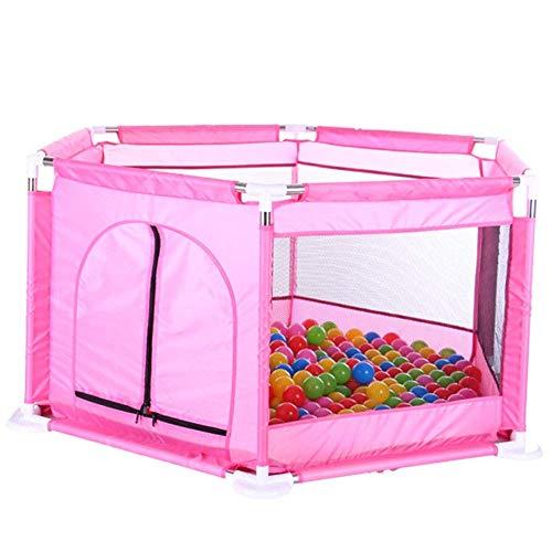ZTMN Baby Playpen Kids Safety Playpen Kids Activity Center Room (Couleur: Rose)