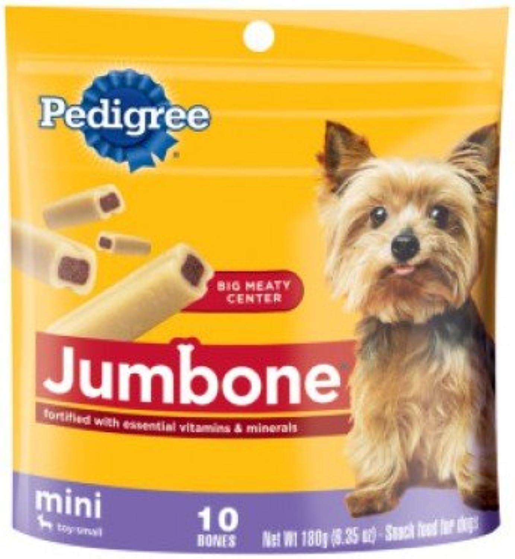 PEDIGREE Jumbone 10 Mini Bones 6.34oz Toy small