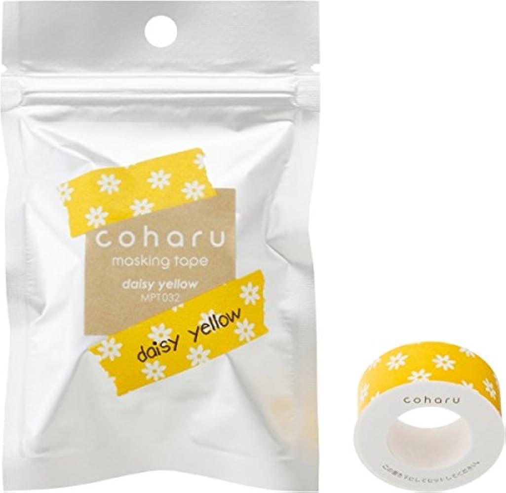 COHARU Thermal Paper Masking Tape, Daisy Yellow