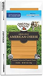 Organic Valley American Cheese Slices, 6 Oz