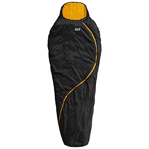 Jack Wolfskin Unisex Adults' 4.055E+12 Sleeping Bag with Zip, Multicolor, One Size, Talla Única