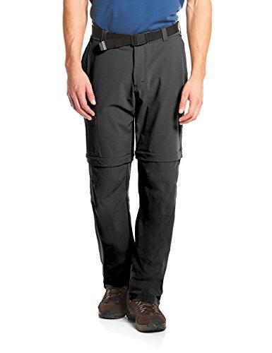 maier sports Herren Outdoor Hose T-zipp Tajo, Black, 50, 133003