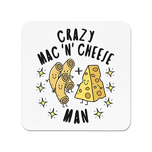 Crazy Mac N Cheese Man Stars Fridge Magnet