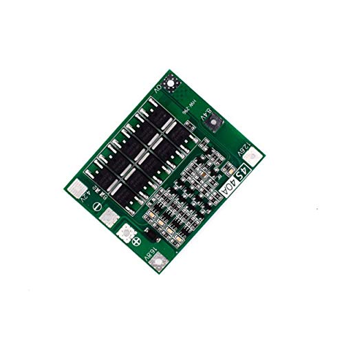 4S 40A Li-ion 18650 Lithium Battery PCB Charger Bms Protection Plate for Drill Motor 14.8V 16.8V Lipo Cell Module - Green