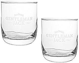 Gentleman Jack Whiskey Snifter Glass | Set of 2 Glasses