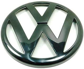 Genuine VW Golf Mk4 Mk5 98-06 Front Grille Logo Badge Emblem Black