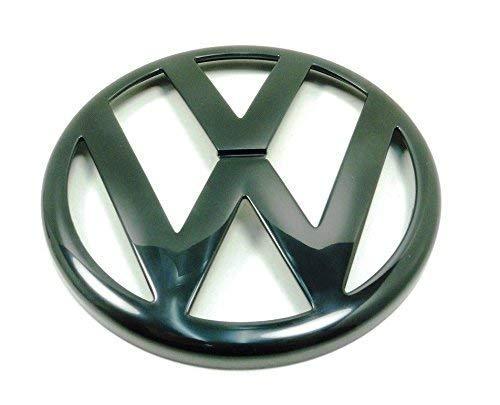 Volkswagen 1J0853601A041 VW Zeichen Emblem schwarz Logo Kühlergrill vorn, nur für Golf 4 (Typ 1J)