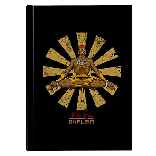Street Fighter Dhalism Retro Japanese Hardback Journal