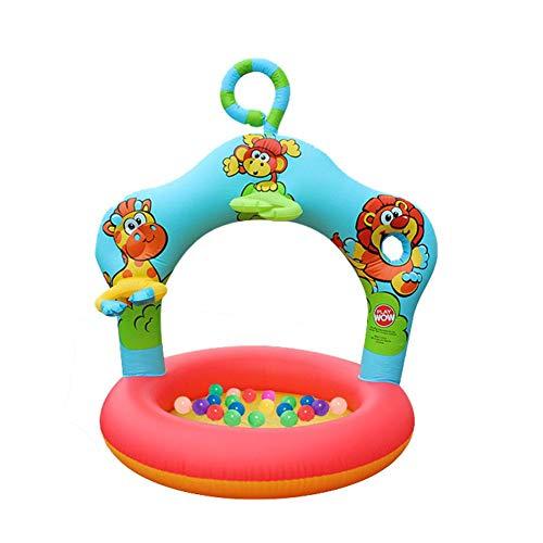 heling896 Piscina De Pelota Marina Inflable Plegable Extra Grande Piscina De Piscina Infantil Piscina Infantil Piscina Infantil para Niños Pequeños