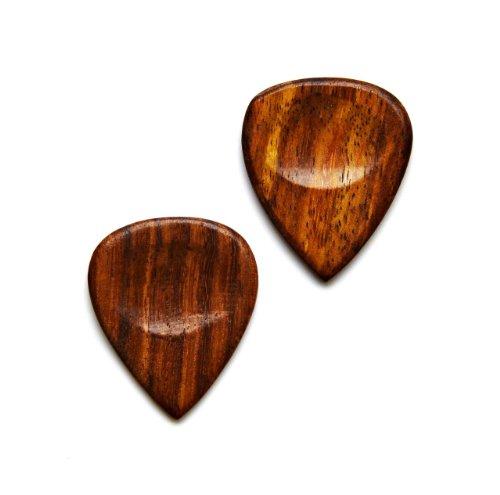 Quality Handcrafts Guaranteed Holz Gitarre Plektrum Manschettenknöpfe–Geschenk für Musiker–Geschenk für Lehrer–Geschenk-Box enthalten