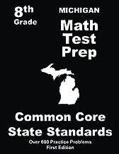 Michigan 8th Grade Math Test Prep: Common Core Learning Standards