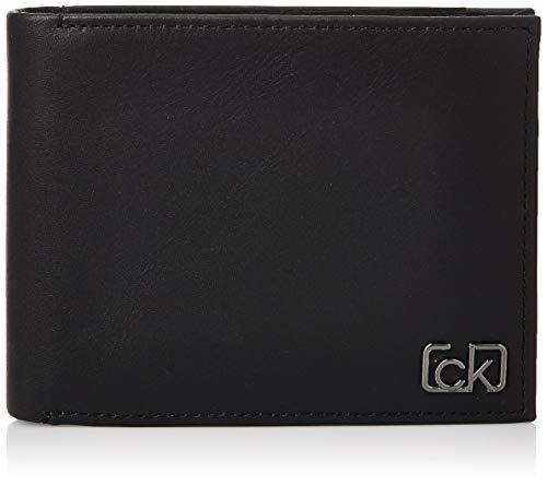 Calvin Klein Ck Cast 10cc W/coin - Portafogli Uomo, Nero (Black), 0.1x0.1x0.1 cm (W x H L)