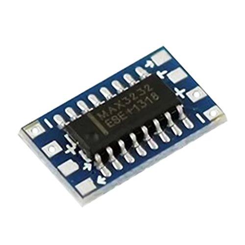 Dosige RS232 auf TTL Konverter Adapter 1 Stück Modul Board MAX3232 115200bps für Arduino Raspberry Pi