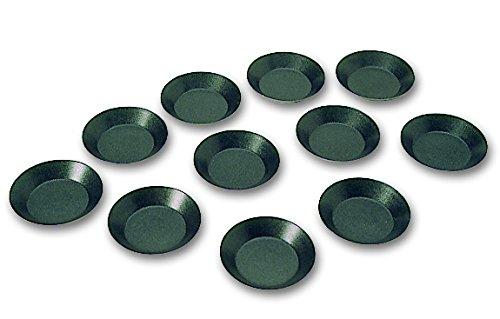 Blister de 12 tartelettes rondes unies EXOPAN professionnelles à diamètre de 100 mm