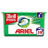 Ariel 3-in-1 Pods Original Washing Liquid Capsules, 19 Washes, Cleans, Lifts Stains, Brightens