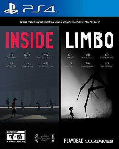 505 Games INSIDE/LIMBO Antología PlayStation 4 Inglés vídeo - Juego (PlayStation 4, Plataforma, M (Maduro))