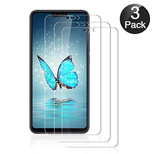 GOMAN Cristal Templado Xiaomi Mi 8 Lite [3 Unidades], Protector Pantalla Xiaomi Mi 8 Lite Vidrio Templado, Protector de Pantalla para Xiaomi Mi 8 Lite