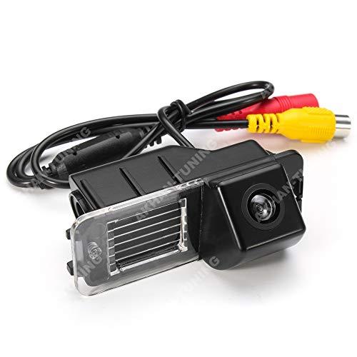 CAM06 - Couleur caméra arrière avec des lignes de quadrillage que la lumière de plaque d'immatriculation, capteur de stationnement pour VW Amarok , Jetta , Golf 6 , New Beetle , Passat CC , Polo V 6R , Scirocco , EOS , Skoda Superb