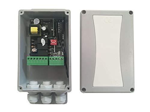 Cuadro de maniobra universal para Persianas Automaticas, Toldos Automaticos compatible Somfy Nice Cherubini Dooya V2 con salida para sensor de viento