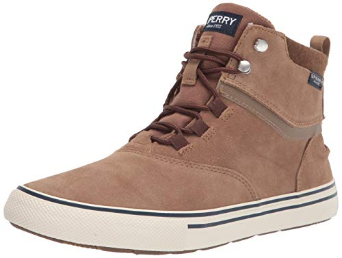 Sperry Top-Sider Striper Storm Boot WP, Basket Homme, Tan Suede, 48 EU