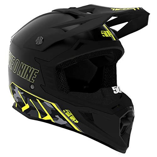 509 Tactical Helmet (Black Camo - X-Large)