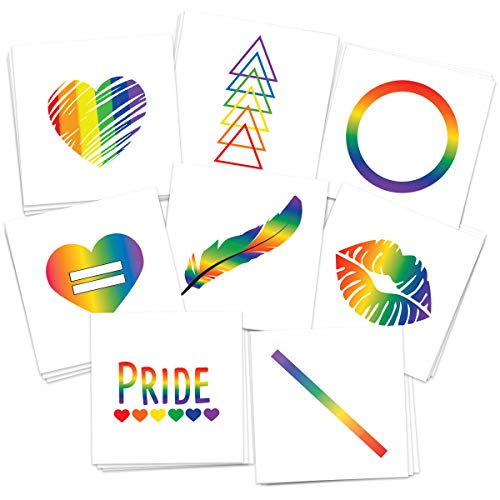 FashionTats Pride Temporary Tattoos   Pack of 16...