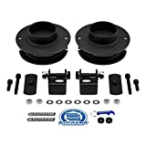 Supreme Suspensions - Front Leveling Kit for Ram 2500 3500 4WD 2.5' Front Lift Kit High-Strength Steel Spring Spacers + Shock Mounts Relocation Brackets