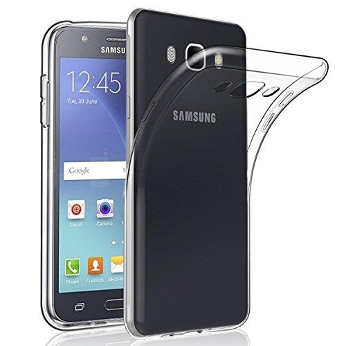 NEW'C Funda para Samsung Galaxy J7 2016, Anti- Choques y Anti- Arañazos, Silicona TPU, HD Clara
