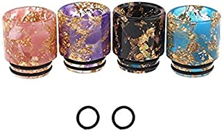 810 drip Tips,Resin Quick Plastic Quick Fitting 810 Drip Tip Connector (Color Random Delivery)- 2 PCS