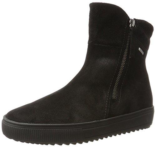 Gabor Shoes Damen Comfort Basic Stiefel, Schwarz (87 Schwarz (Mel.), 40 EU