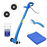 QUICK & EASY GROUT CLEANING MACHINE –Leave dirty grout and cleaning-induced back pain in the past with Grout Groovy's Stand Up Grout Cleaner. Weighing less than 4 lbs, this grout cleaning machine is safe and easy to use in kitchens, bathrooms & hall...