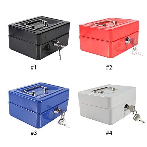 Caja fuerte y caja de seguridad: caja fuerte, cajas fuertes y cajas de seguridad, caja de dinero, cajas de seguridad para el hogar, caja de seguridad digital, caja fuerte de aleación de acero(S negro)