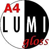500 Sheets A4 200 GSM LUMI Gloss Laser 2 Sided Printer Paper