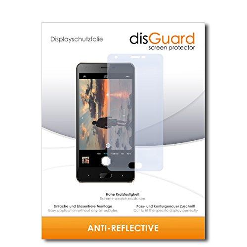 disGuard® Bildschirmschutzfolie [Anti-Reflex] kompatibel mit Doogee X20L [2 Stück] Entspiegelnd, Matt, Antireflektierend, Extrem Kratzfest, Anti-Fingerabdruck - Panzerglas Folie, Schutzfolie