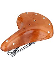 Keen so - Sillín de bicicleta, remaches universales para asiento de bicicleta de montaña, piel de vaca, muelles
