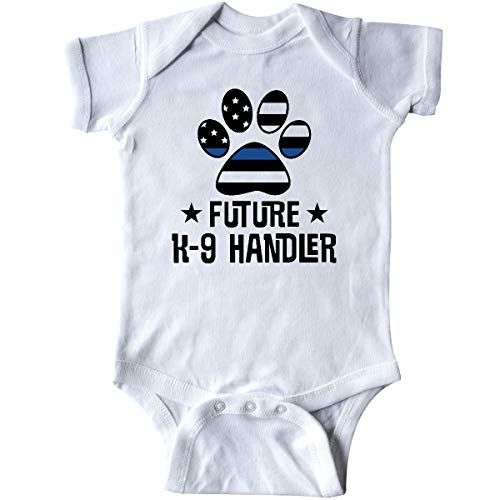 inktastic Police Law Enforcement Future K-9 Infant Creeper Newborn White 36842