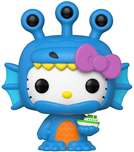 Funko- Pop Sanrio: Hello Kitty Kaiju HK Figura Coleccionable, Multicolor (49833)