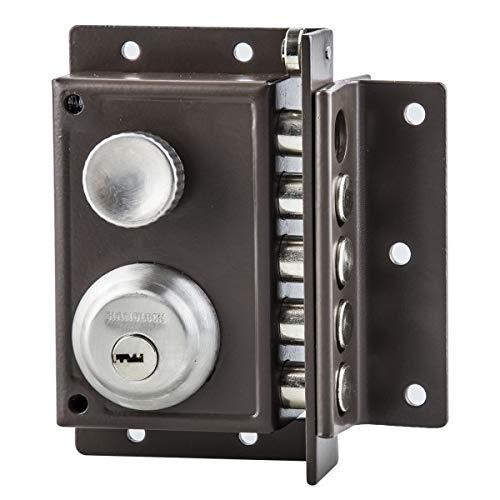 Cerradura sobreponer seguridad derecha
