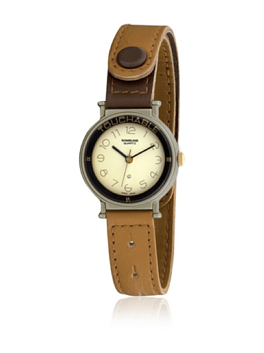 Samsung 4031 - Reloj de Señora Camel/Crema