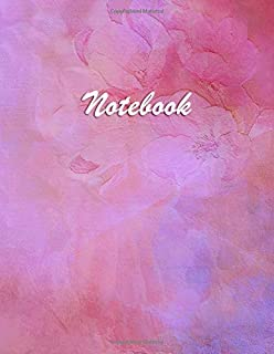 Notebook for Woman: Lined – College Ruled - Blank - Table of Content - Diary, Journal, Composition Book, Doodles, Sketchbook - A4 150 - Fashion and Elegant Watercolor Roses