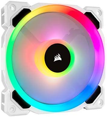 Corsair LL Series LL120 RGB 120mm RGB LED Fan Single Pack White product image