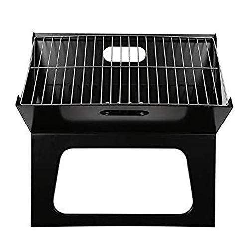 MASP Fire Pit,Outdoor Patio Steel Fire Pit,tableto BBQ Charcoal Grill Smoker Portable BBQ GrillTabletop Outdoor Stainless Steel Smoker X Shape BBQ for All BBQ Grills